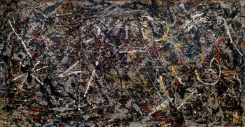Jackson Pollock,Alchemy, at the Peggy Guggenheim Collection in Venice in Italy