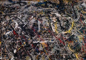 Jackson Pollock, Alchemy, at the Peggy Guggenheim Collection in Venice in Italy