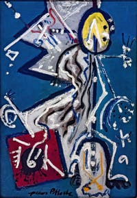 Jackson Pollock,Direction, at the Peggy Guggenheim Collection in Venice in Italy