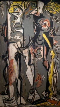 Jackson Pollock, Two, at the Peggy Guggenheim Collection in Venice