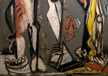 Jackson Pollock,Two, at the Peggy Guggenheim Collection in Venice