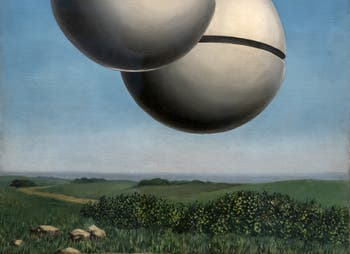 René Magritte,Voice of Space (La Voix des Airs) at the Peggy Guggenheim Collection in Venice in Italy