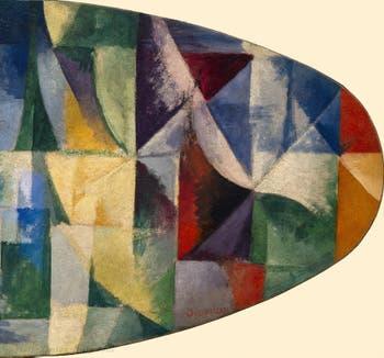 Robert Delaunay,Windows Open Simultaneously 1st Part, 3rd Motif (Fenêtres ouvertes simultanément 1ère partie, 3e motif ) at the Peggy Guggenheim Collection in Venice