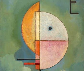Vasily Kandinsky,Upward, at the Peggy Guggenheim Collection in Venice