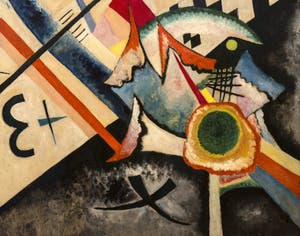 Vasily Kandinsky, White Cross, at the Peggy Guggenheim Collection in Venice