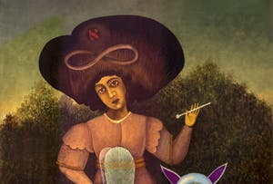 Victor Brauner,The Surrealist(Le Surréaliste) at Peggy Guggenheim Museum in Venice in Italy