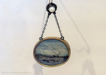 Yves Tanguy,Earrings for Peggy Guggenheim, at the Peggy Guggenheim Collection in Venice in Italy