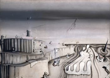 Yves Tanguy,Promontory Palace (Palais promontoire) at the Peggy Guggenheim Collection in Venice in Italy