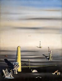 Yves Tanguy, The Sun in Its Jewel Case (Le Soleil dans son écrin) at the Peggy Guggenheim Collection in Venice in Italy