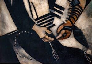 Marc Chagall,Rabbi of Vitebsk, Ca' Pesaro International Modern Art Gallery in Venice Italy