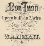 Mozart Don Juan