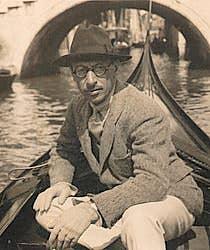 Igor Stravinsky Venice Italy 1925