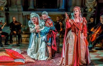 Dido and Aeneas Purcell Opera at the Scuola Grande dei Carmini in Venice