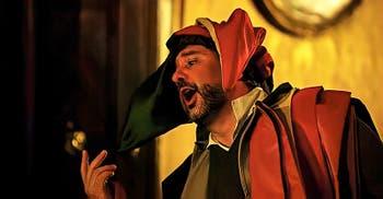 Opera Verdi Rigoletto at Barbarigo Minotto Palace in Venice