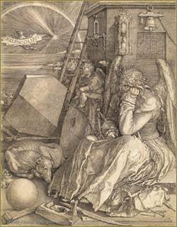 Albrecht Dürer - Melancholy 1514.