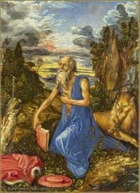 Albrecht Dürer - Saint Jerome Penitent 1497.