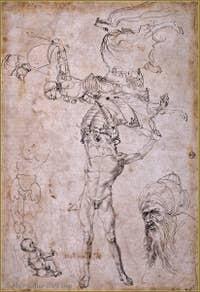 Albrecht Dürer - Study 1494.