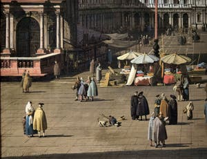 Canaletto, St. Mark's Square and the Procuratie seen from the Basilica, Galleria Nazionale Barberini in Rome