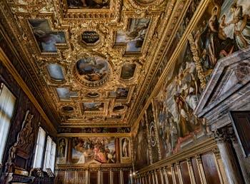 Salla del Collegio, Collegio Chamber, Doge's Palace in Venice