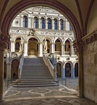 Giant Staircase, Doge's Palace in Venice