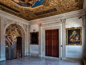 The Atrium Square Salon, Doge's Palace in Venice in Italy