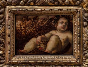 Tintoretto, Spring, Atrium Doge's Palace in Venice in Italy