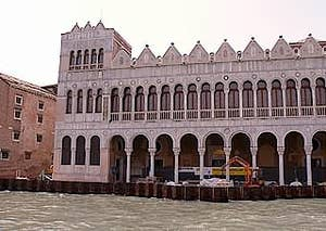 Fontego dei Turchi become Museum of Natural history in Venice Italy