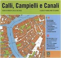 Calli Campielli e Canali, detailed map Venice italy