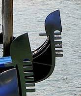Gondolas - Ferro de Prua Venice Italy