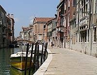 Fondamenta Cannaregio Venice Italy