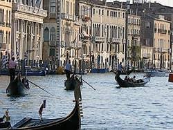 Gondolas Grand Canal Venice