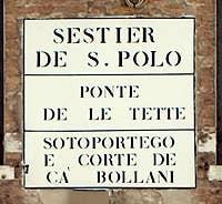 Nizioleto Bridge of the Tette Venice Italy