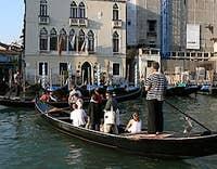 Traghetto in Venice italy