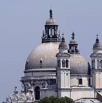 Church Santa Maria Salute Venice Italy