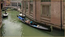 The view on the Scoamini Canal from the flat.