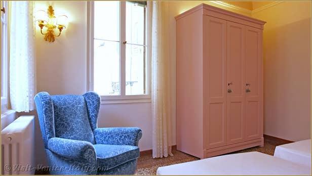 Rental Flat Venice Affresco, the second bedroom Double