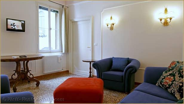 Rental Flat Venice Affresco, the lounge