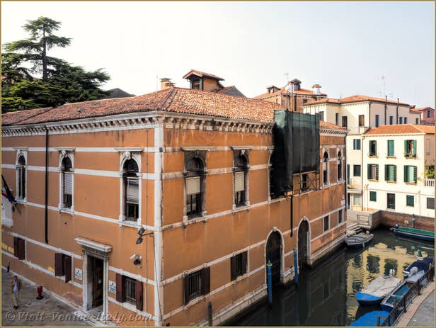 Renting Flat Venice Cassetti Frari, lathe view from the flat