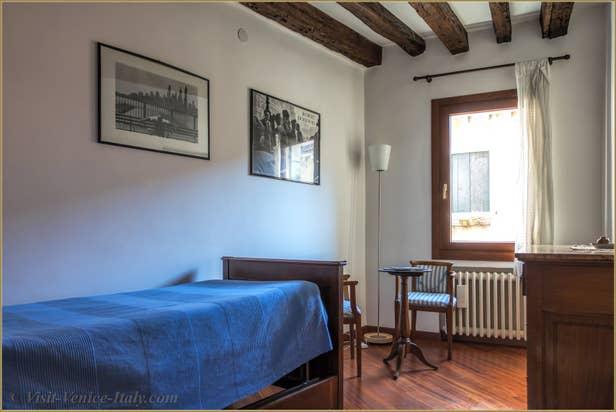 Flat Rental Corte Zappa in Venice, the single bedroom