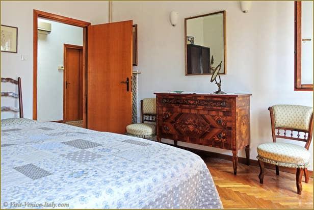 Rental Flat Greci View in Venice, third Bedroom