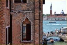 The view of San Giorgio Maggiore Island.