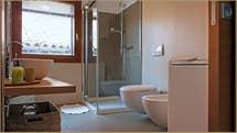 First Bathroom of flat Laguna View in Venice.