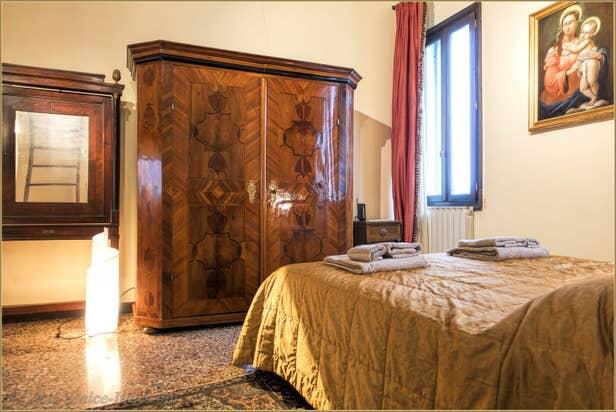 Flat Rental Venice Ponte Storto, the bedroom