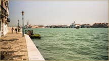 The view on Giudecca Canal