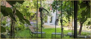 House Rental in Venice Italy: Alice Garden in Castello District