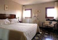 The very nice bedroom of the Casa dei Bombardieri in Venice Italy Castello