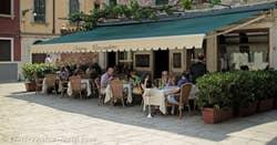 Ostaria Boccadoro Terrace in Venice