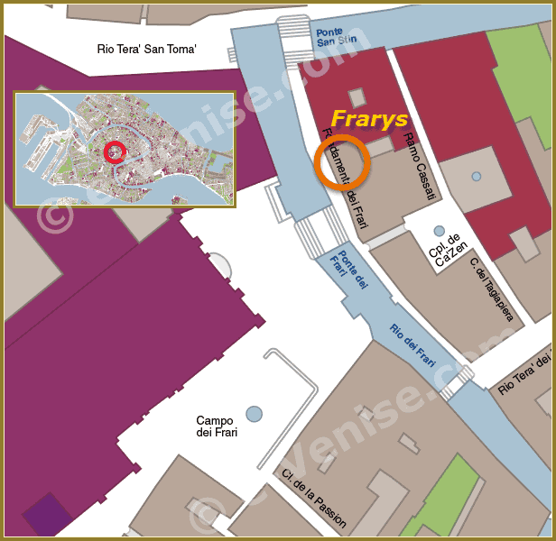 Restaurant Frary's Location in Venice