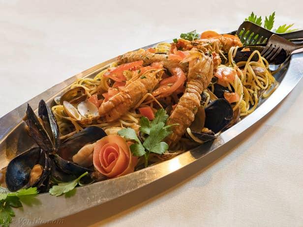 Santa Giustina Restaurant in Venice