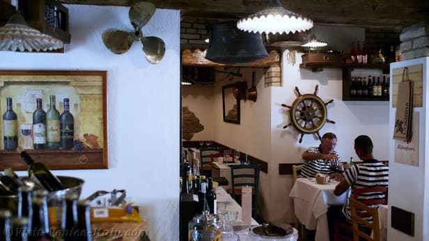Restaurant Ostaria Al Cantinon Venice